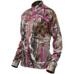 Women's Realtree AP/Magenta Fusion Mid-Layer Jacket - 78-2092