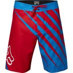 Red/Blue Spiked Boardshorts - 16153-003-30