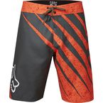 Military/Orange Spiked Boardshorts - 16153-373-36