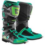 Turquoise/Lime SG-12 Boots - 2174-040-10