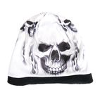 Ghost Skull Sublimated Beanie - KHC1001