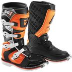 Youth Orange/Black SG-J Boots - 2166-018-01