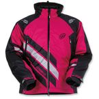 Women's Black/Pink Eclipse Insulated Jacket - 3121-0569