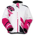 Women's White/Pink Comp Insulated Jacket - 3121-0576