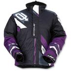Women's Black/Purple Comp Insulated Jacket - 3121-0580