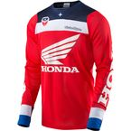 Red/White/Blue SE Air Corsa Honda Jersey - 302143414