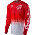 White/Red SE Air Starburst Jersey - 302013144