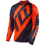 Fluorescent Orange/Navy GP Air Quest Jersey - 304130734