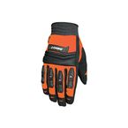 Orange/Black Velocity Gloves - 1056-4901