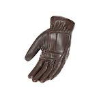 Brown Cafe Racer Leather Gloves - 1630-2304