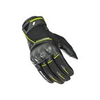 Black/Hi-Viz Super Moto Gloves - 1632-1404