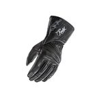 Women's Black Pro Street Gloves - 1638-1001