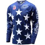 Red/White/Blue LTD Freedon SE Air Jersey - 302142344
