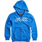 Youth Blue Legacy Zip Hoody - 15996-002-YM