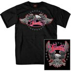 Black Freedom Eagle T-Shirt - GMD1340L