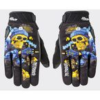 Black/Blue Artime Joe Destroy Gloves - 1612-1204