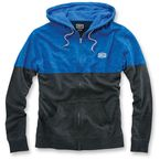 Heather Blue/Dark Gray Arvius Hoody - 36012-059-12