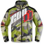 Green Merc Deployed Jacket  - 2820-3787