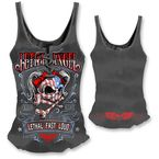 Womens USA Girl Tank Top  - LT20302L