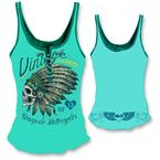 Womens Renegade Motorcycle Tank Top  - LT20351L