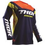 Navy/Red/Orange Fuse Propel Jersey - 2910-4242