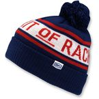 Navy Aspect Pom Pom with Cuff Beanie - 20114-002-01