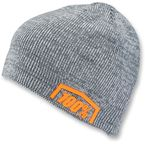 Charcoal Heather Essential Acrylic Skully Fit Beanie  - 20116-052-01
