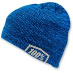 Heather Blue Essential Acrylic Skully Fit Beanie - 20116-182-01
