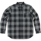 Heather Gray/Gray Explicit Long-Sleeve Flannel Shirt - FA6504000HGRM