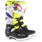 White/Yellow/Black Tech 7 Boots - 2012014-257-10