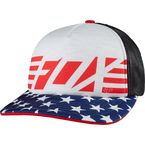 Women's Red, White and True Trucker Hat - 19149-280-OS