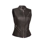 Women's Black The Fairmont Vest - FIL-512-NOC-L