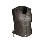 Women's Black Honey Badger Vest - FIL-566-RCSL-2X