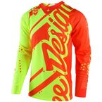 Youth Fluorescent Yellow/Orange GP Shadow Jersey - 309499574