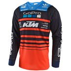 Youth Navy/Orange GP Air Team Jersey - 306005374