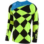 Fluorescent Yellow/Black SE Joker Jersey - 303488532