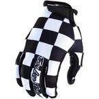 Black/White Air Checker Gloves - 404044214