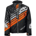 Black/Orange Comp Insulated Jacket  - 3120-1733