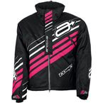 Women's Black/Pink Comp Insulated Jacket - 3121-0637