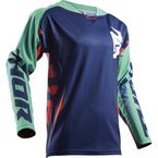 Navy/Teal/Orange Fuse Rampant Jersey - 2910-4315