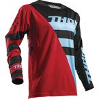 Red/Blue Fuse Air Rive Jersey - 2910-4330