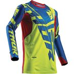 Lime/Blue Prime Fit Paradigm Jersey - 2910-4340