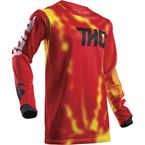 Youth Red Pulse Air Radiate Jersey - 2912-1540