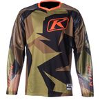Green/Brown Dakar Jersey - 3315-005-140-300