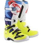 Fluorescent Yellow/White/Blue/Cyan Tech 7 Boots - 2012014-5277-10