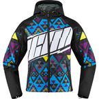 Womens Black/Multi  Merc Georacer Jacket - 2822-0948