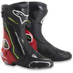 Black/Fluorescent Red/White/Fluorescent Yellow SMX Plus Boots - 2221015-1326-39