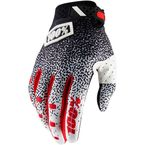 Black/White Ridefit Gloves - 10001-059-12