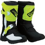 Black/Hi-Viz M1.3 Child Boots - 3411-0474