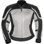 Women's Silver/Black Intake Air 4.0 Jacket - 8767-0407-76